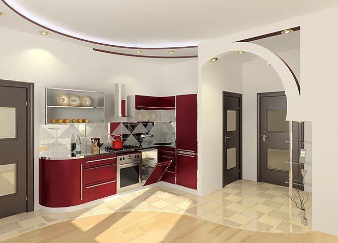 Интерьер кухни4