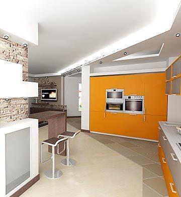 Интерьер кухни5