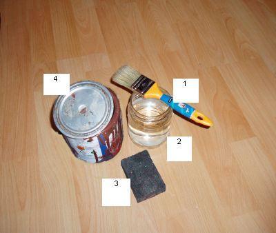 Инструменты и средства для грунтовки дерева