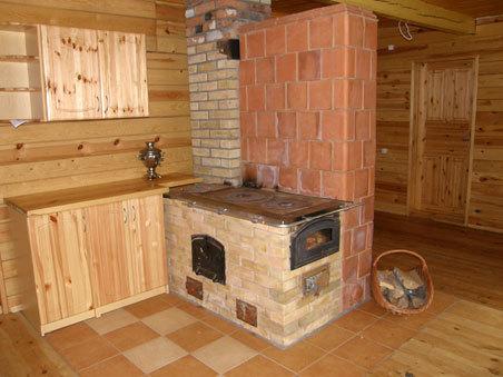 Типичная деревенская плита с